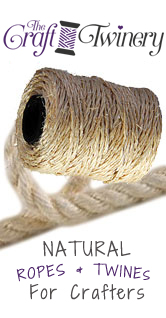 twine and string products for crafters craft projects