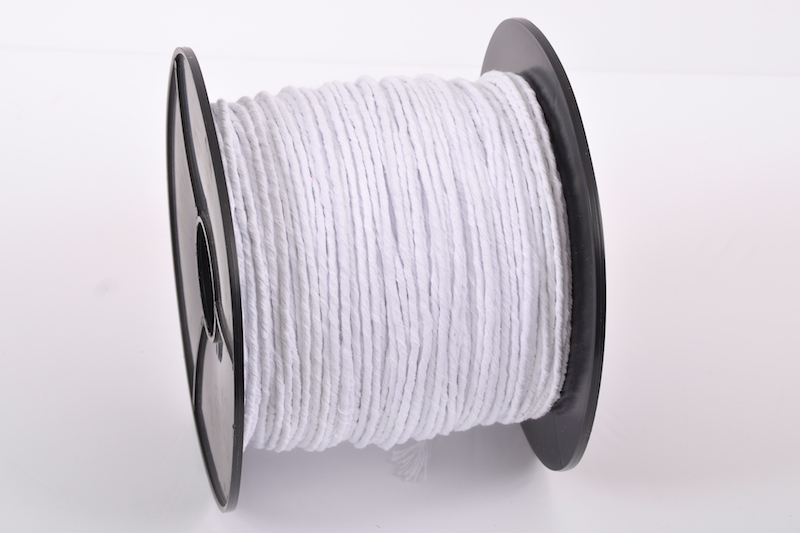 BLEACHED TWISTED COTTON PIPING CORD