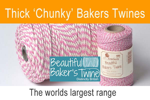 thick bakers twines from the beautiful bakers twine range