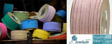 Coloured cotton ropes braided luxury soft cotton ropes sold in over 30 colours