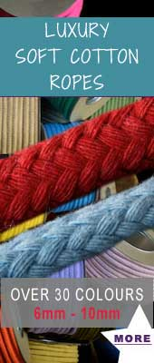 craft ropes and twinery feature product soft cotton coloured ropes sale