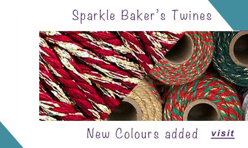 news-new range of sparkle added to sparkle craft twines and strings