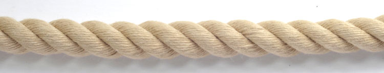 Traditional looking rope but in manmade synthetic polyhemp. A synthetic rope which looks and feels like hemp for sale in a wide range of diameter like hemp
