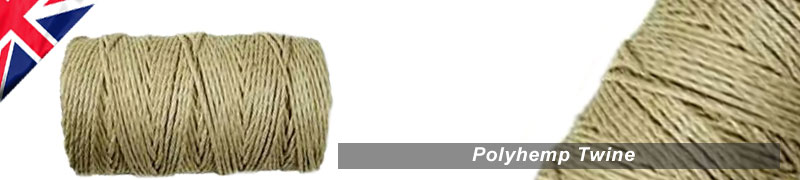 polyhemp twines and strings 3 ply polyhemp very strong natural colour twine