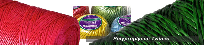 ranges of polyproplyene twines in different colours strong synthetic fibre and useful tying twine around the garden and home info