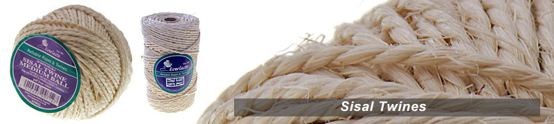 sisal twines a range of natural sisal twine  in 2 ply immediated delivery