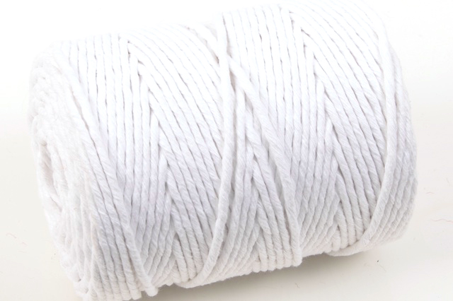 Bleached Soft Twist Cotton Piping Cord