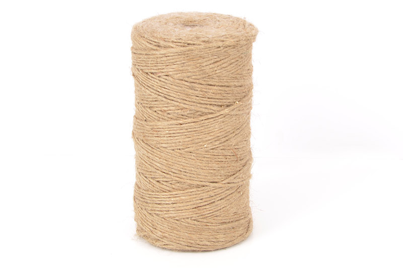 3MM THICK 1/96 NATURAL JUTE CRAFT TWINE