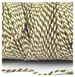 Bakers Twine - Olive Green