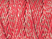 CHUNKY BAKERS TWINE - RED SPARKLE