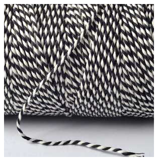 Bakers Twine - Black
