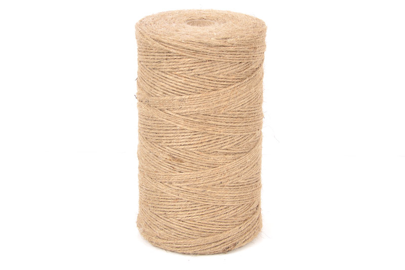 2MM STANDARD NATURAL 3/16 JUTE CRAFT TWINE