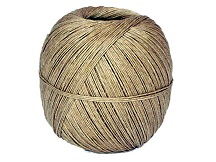 408 FLAX CRAFT TWINE 226G BALL APPROX 1.25MM