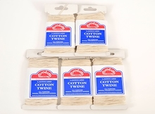 PACK OF 5 LASTOCARD COTTON TWINE CARDS