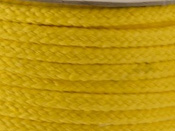 DAFFODIL YELLOW COTTON MAGICIANS ROPE 6MM DIAMETER