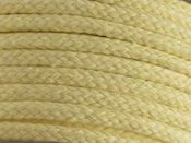 pastel lemon coloured cotton braided rope for magicians stage magic tricks