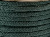 MOSS GREEN COLOURED COTTON MAGICIANS ROPE 6MM DIAMETER