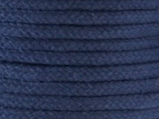NAVY COLOURED COTTON MAGICIANS ROPE 6MM DIAMETER