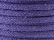 magicians rope manufactured in a violet soft coreless cotton