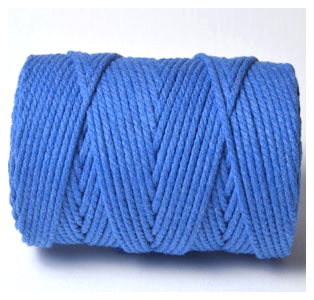 CHUNKY BAKERS TWINE SOLID - OXFORD BLUE