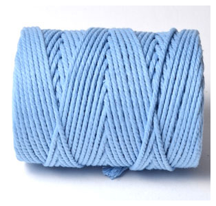 CHUNKY BAKERS TWINE SOLID - SKY BLUE