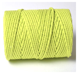 CHUNKY BAKERS TWINE SOLID - SPRING GREEN