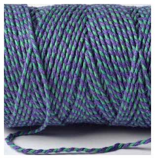 Bakers Twine - VIOLET AND GREEN