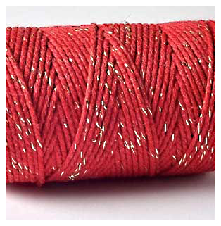 SPARKLE Bakers TWINE RED