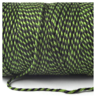 Bakers Twine - BLACK AND EMERALD