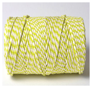 CHUNKY BAKERS TWINE - ORIGINAL SPRING GREEN