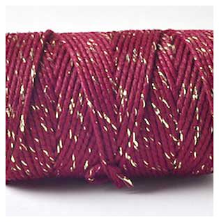 SPARKLE Bakers Twine - BURGUNDY