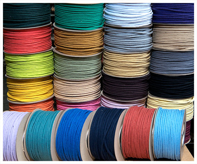 BAKER'S BRAID COLOURED COTTON SASH CORD 50M