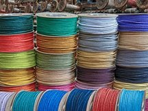 BAKER'S BRAID COLOURED COTTON SASH CORD 10M