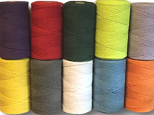 Coloured STRING 0.5KG SPOOL 15/6 (2MM)