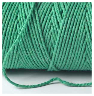 100M SOLID Bakers Twine Finest - EMERALD