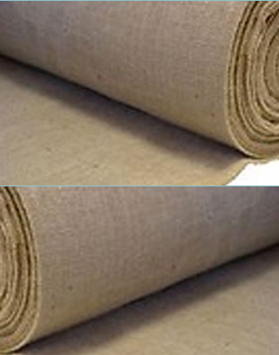 137cm x 46m Hessian Craft Fabric Roll