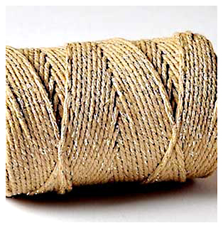SPARKLE Bakers Twine - GOLD