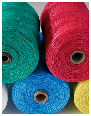 COLOURED POLYPROPYLENE TWINE 0.5KG SPOOL
