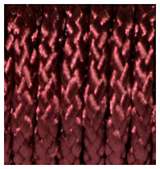 BRAIDED POLYESTER CORD BURGUNDY 6MM x 25M