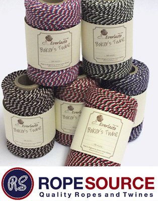 TRICOLOR Bakers TWINE SAMPLE 6 PACK
