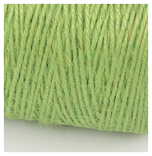 COLOURED JUTE TWINE - SPRING GREEN