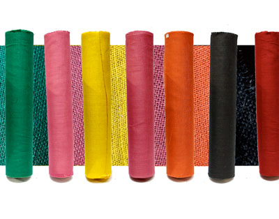 Coloured Hessian Rolls - 100cm x 20m