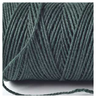 SOLID BAKERS TWINE - MOSS GREEN