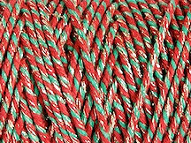 SPARKLE Bakers TWINE RED GREEN