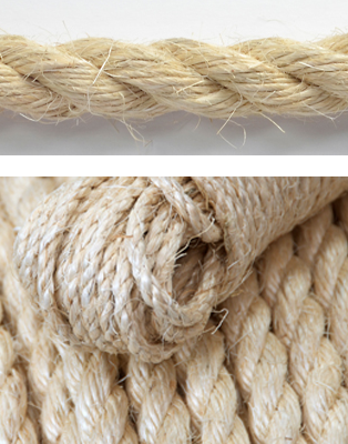 20mm x 30m EVERLASTO NATURAL SISAL ROPE
