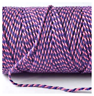 Bakers Twine - PINK AND VIOLET