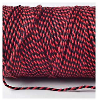 Bakers Twine - RED AND BLACK