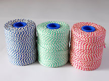 No 5 RAYON BUTCHERS TWINE 0.5KG (COLOURED)