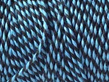 Bakers Twine - BLACK AND SKY BLUE