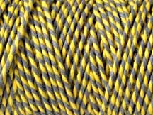 Bakers Twine -  SLATE AND DAFFODIL